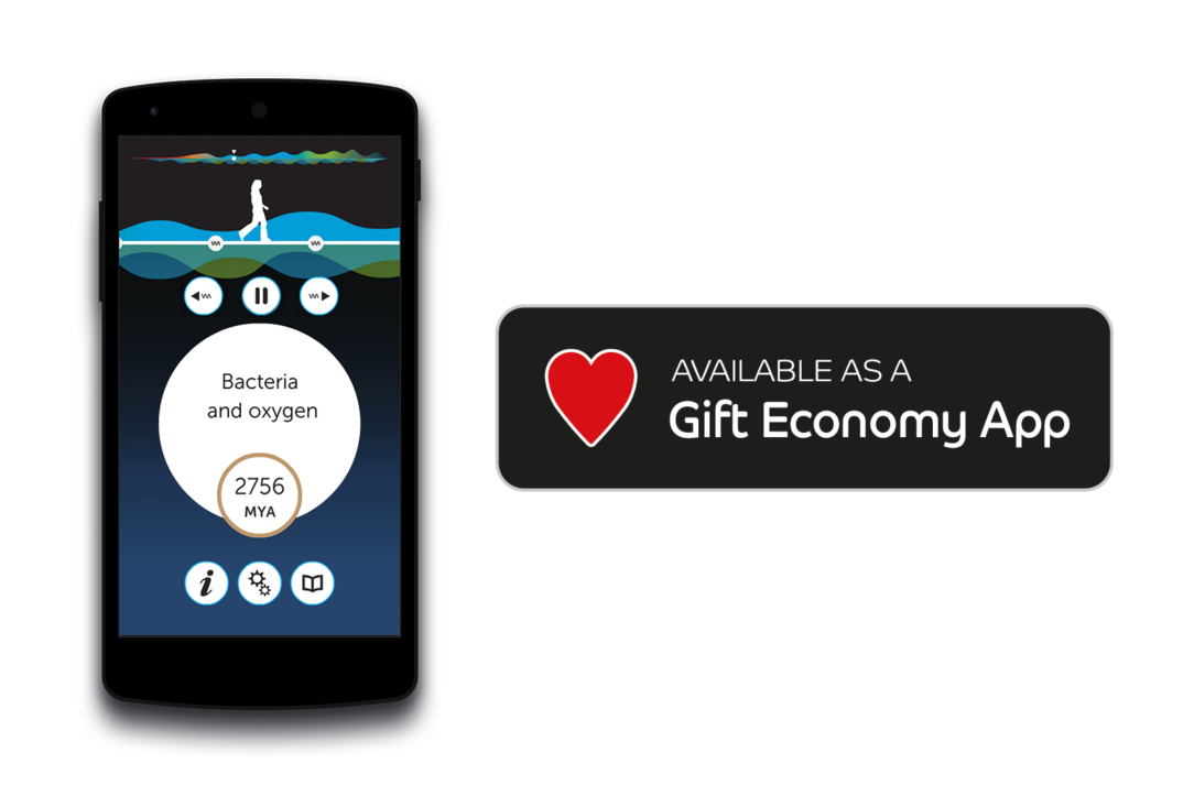 Deep Time Walk now a Gift Economy App - Deep Time Walk